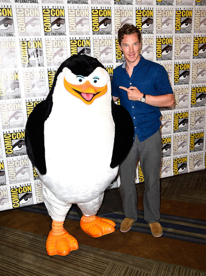 Камбербэтч на Comic-Con в 2014 году