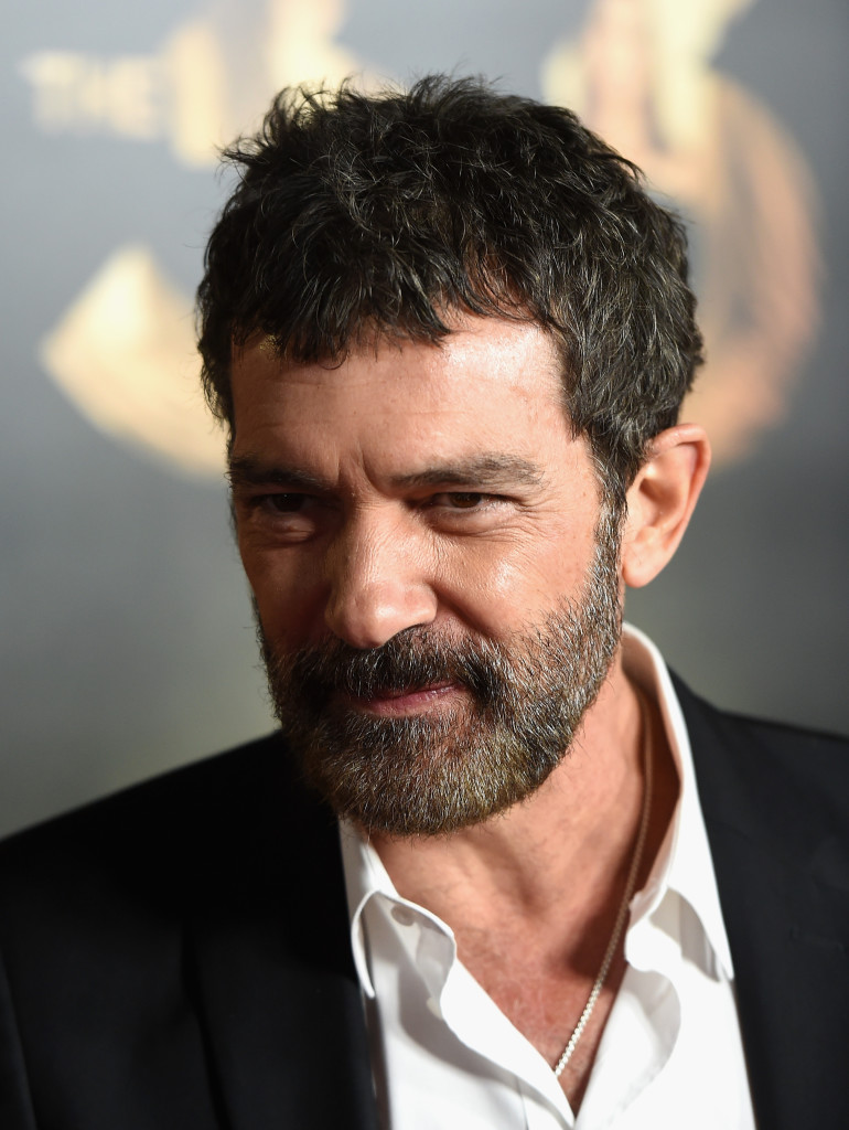 """HOLLYWOOD, CA - NOVEMBER 09: Actor Antonio Banderas attends the Centerpiece Gala Premiere of Alcon Entertainment's """"The 33"""" during AFI FEST 2015 presented by Audi at TCL Chinese Theatre on November 9, 2015 in Hollywood, California. (Photo by Kevin Winter/Getty Images For AFI)"""
