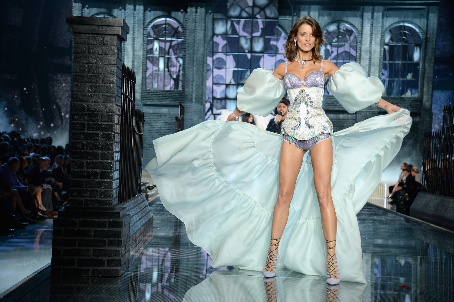 Flavia Lucini Victoria's Secret Fashion Show