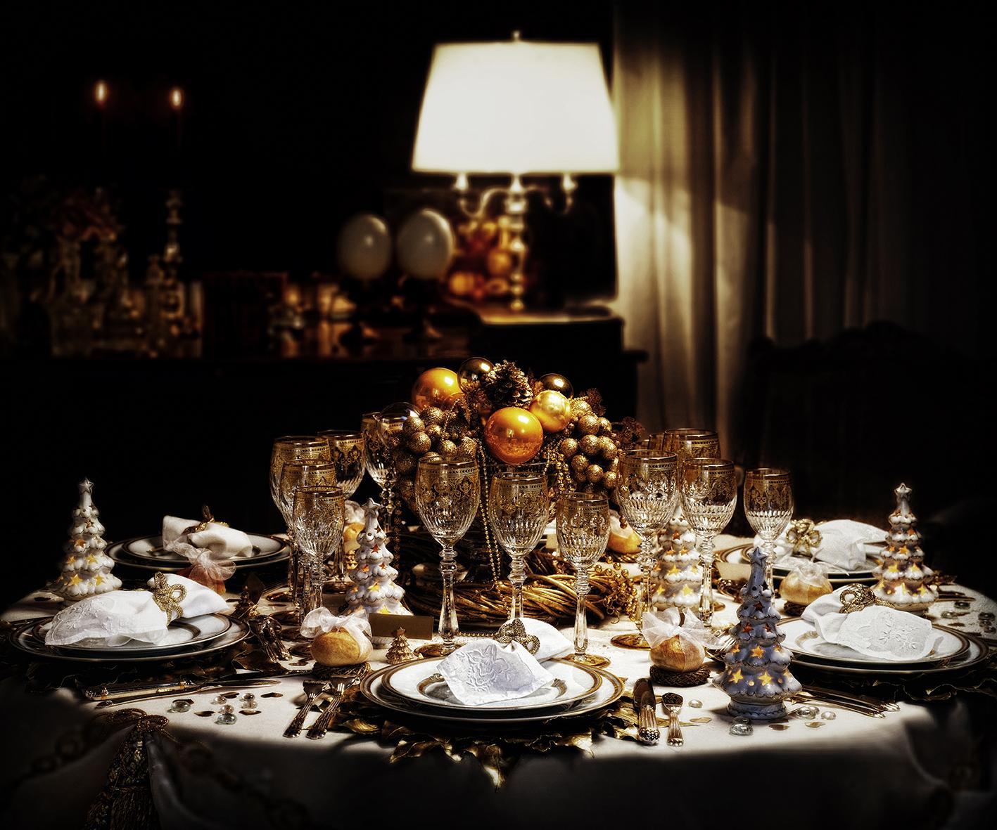 Оформление и сервировка новогоднего стола
