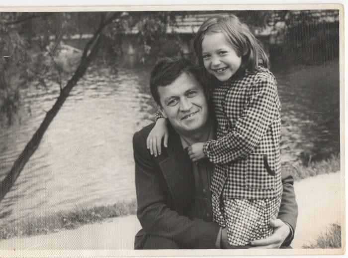 Алена Винницкая с отцом