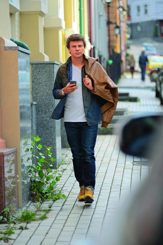 """Дмитрий Комаров, ведущий тревел-шоу """"Мир наизнанку"""" на 1+1, Киев"""