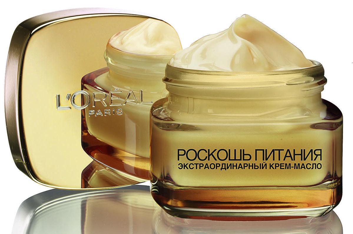 Экстраординарный крем-масло «Роскошь питания» L'Oréal Paris