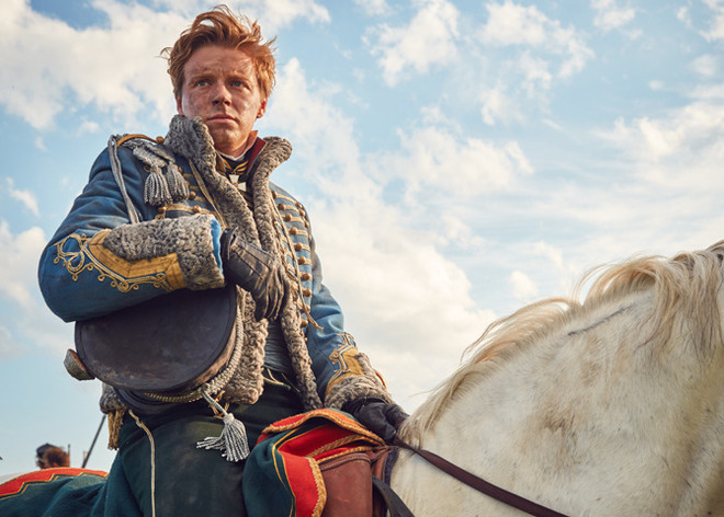 Picture shows: Nikolai Rostov (JACK LOWDEN)