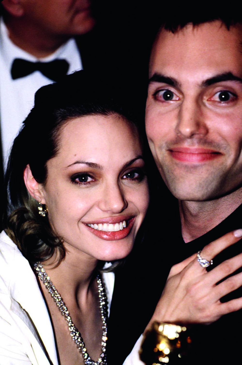 Анджелина Джоли и Джеймс Хейвен, 2000