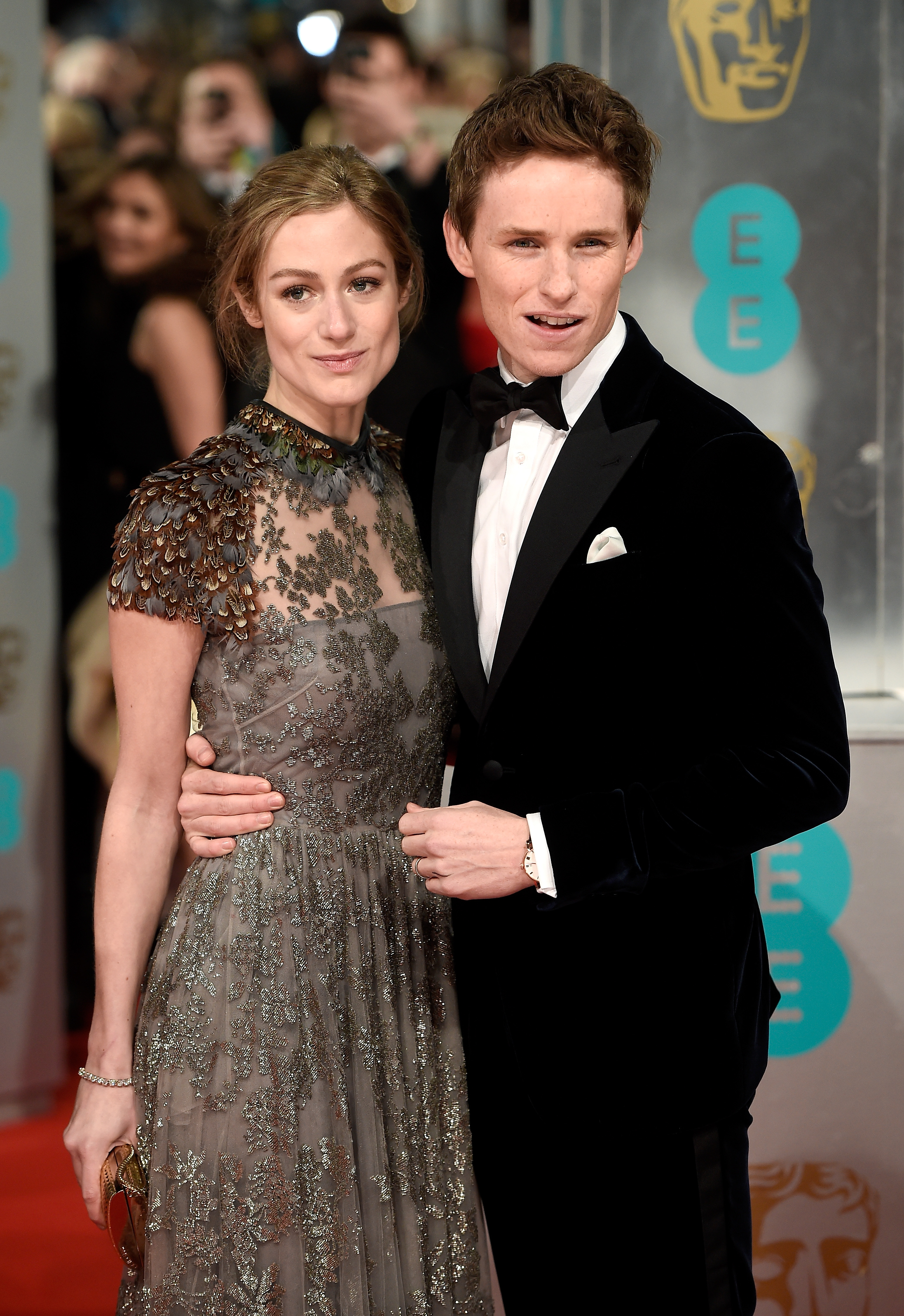 Эдди Редмэйн с женой