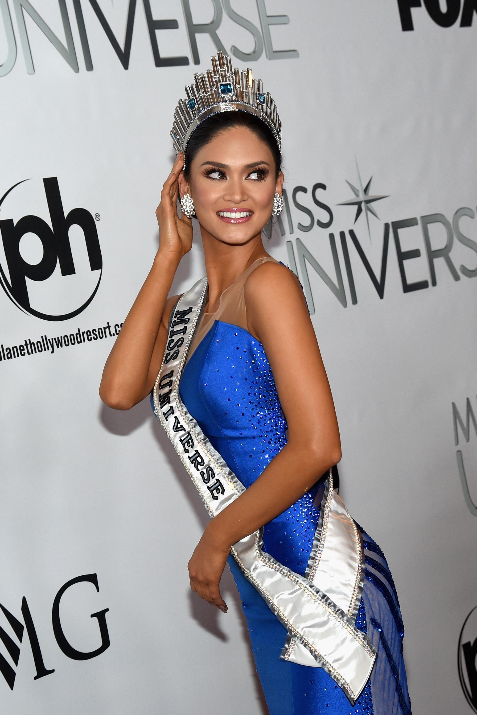 Пиа Вруцбах Мисс Вселенная 2015