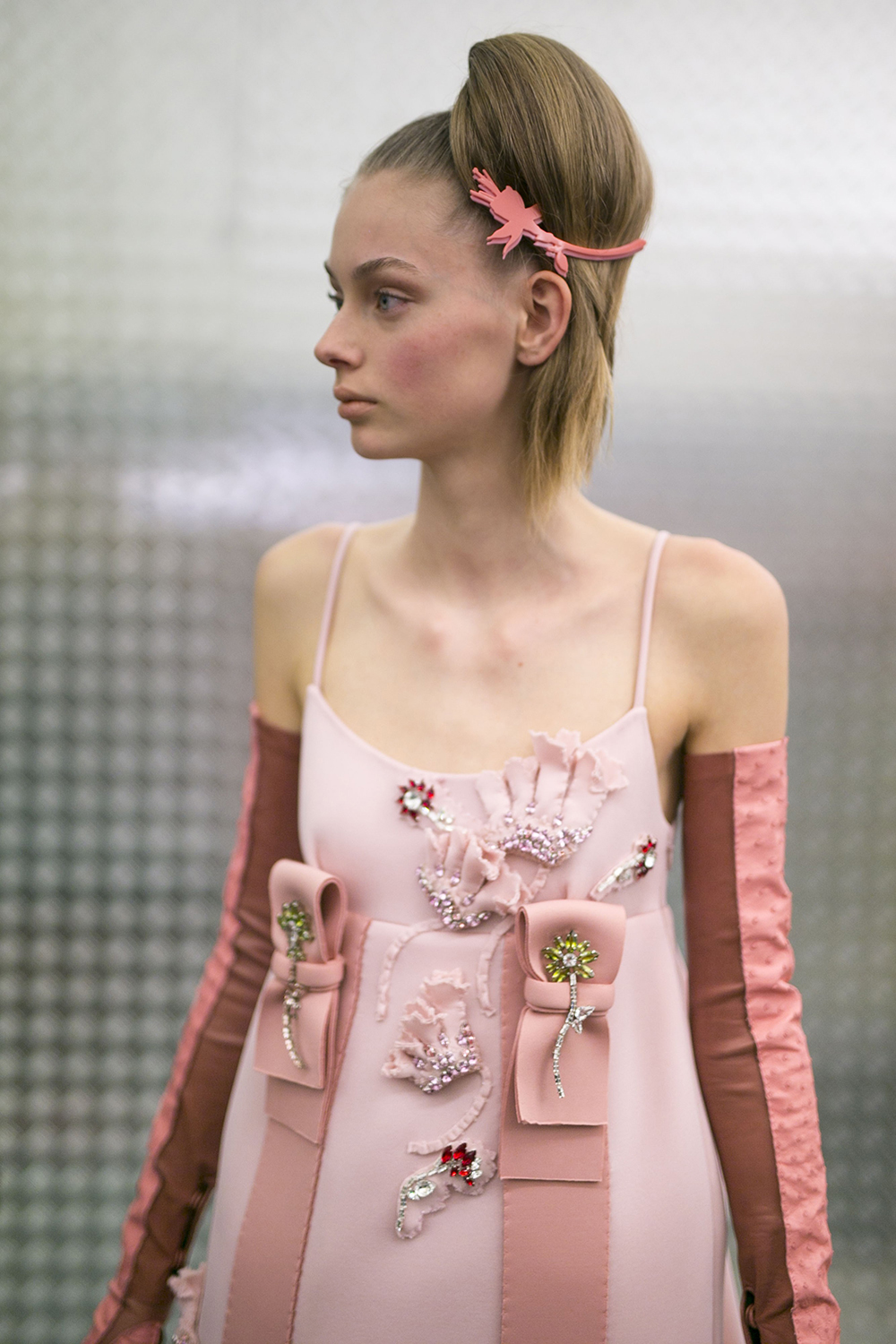 Prada_Backstage_Ready_to_Wear_Fall_Winter_2015_16_Milano_February_2015 PHOTO: EAST NEWS / ZEPPELIN