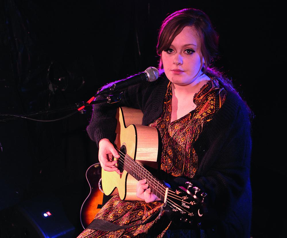 Адель на концерте в США, январь 2009 г.