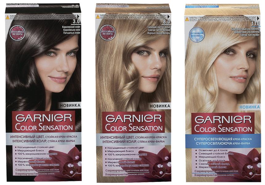 Краска для волос гарнье палитра
