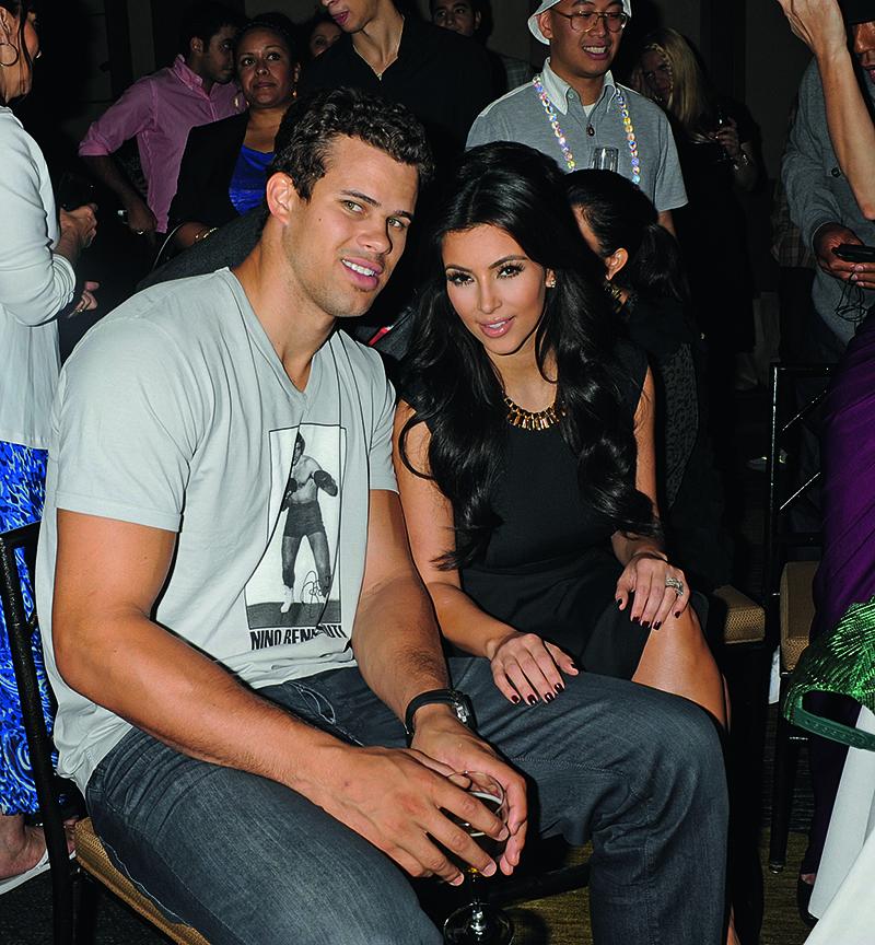 Ким Кардашян и ее второй муж, баскетболист Крис Хамфрис