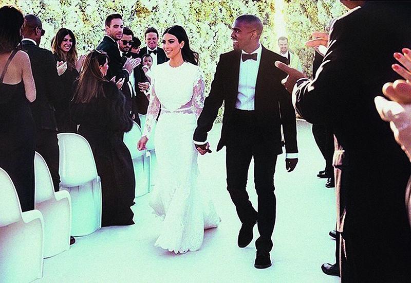 Свадьба Ким Кардашян и Канье Уэст