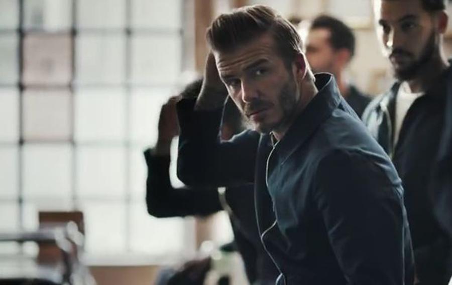Дэвид Бэкхем в рекламе H&M