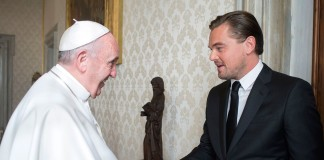 Леонардо ди Каприо и Папа Римский