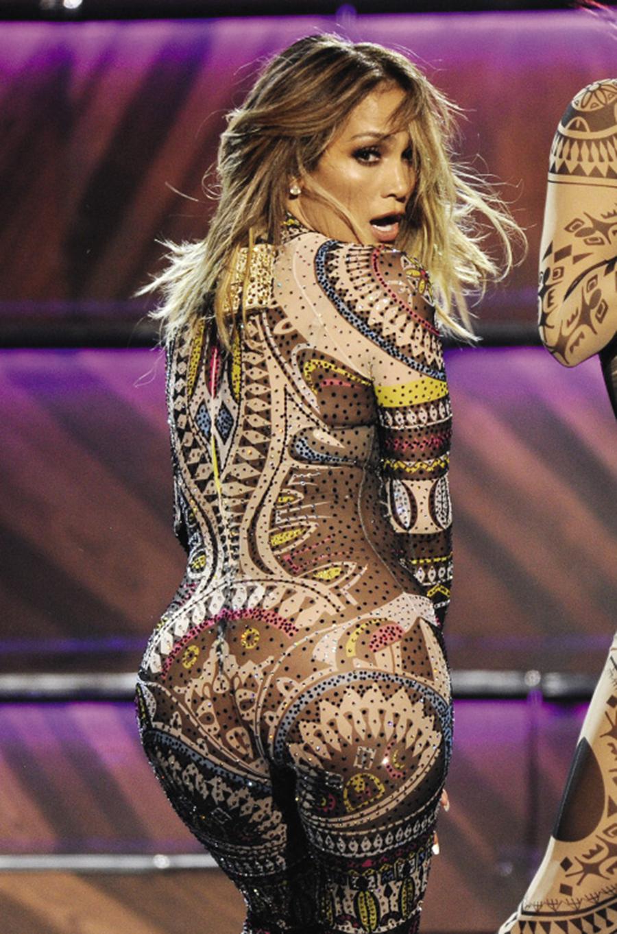 Дженнифер Лопес American Music Awards 2015