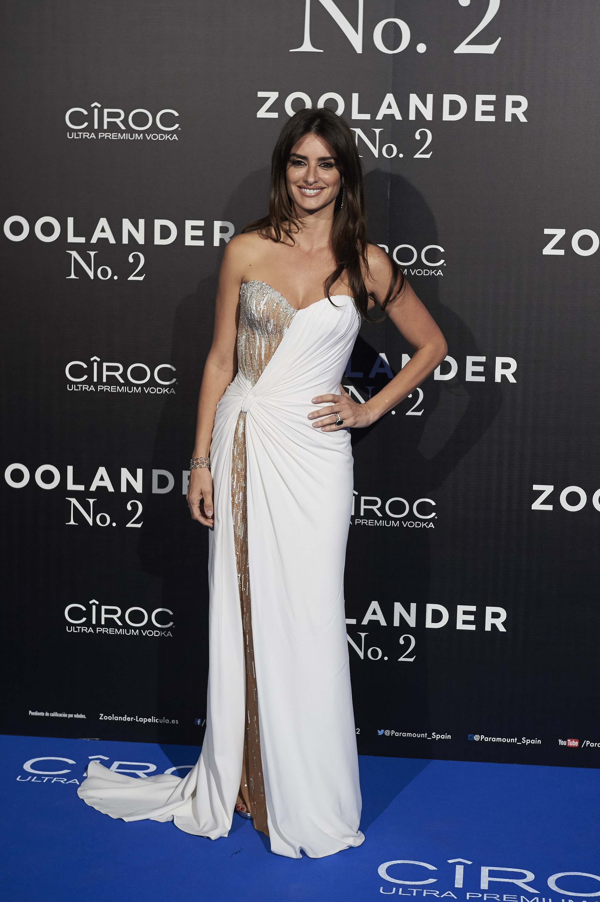 MADRID, SPAIN - FEBRUARY 01: Penelope Cruz attends the Madrid Fan Screening of the Paramount Pictures film 'Zoolander No. 2' at the Capitol Theater on February 1, 2016 in Madrid, Spain. (Photo by Carlos Alvarez/Getty Images)