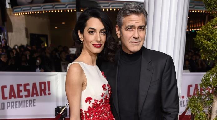 Джордж Клуни и Амаль Клуни фото
