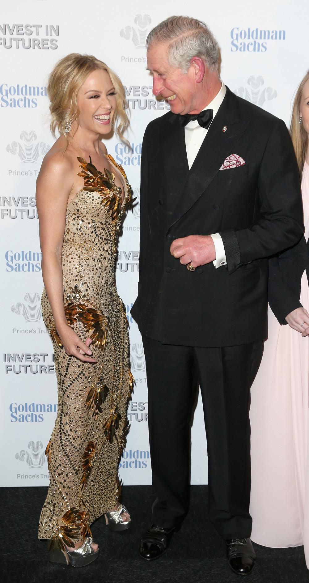 Кайли Миноуг и принц Чарльз