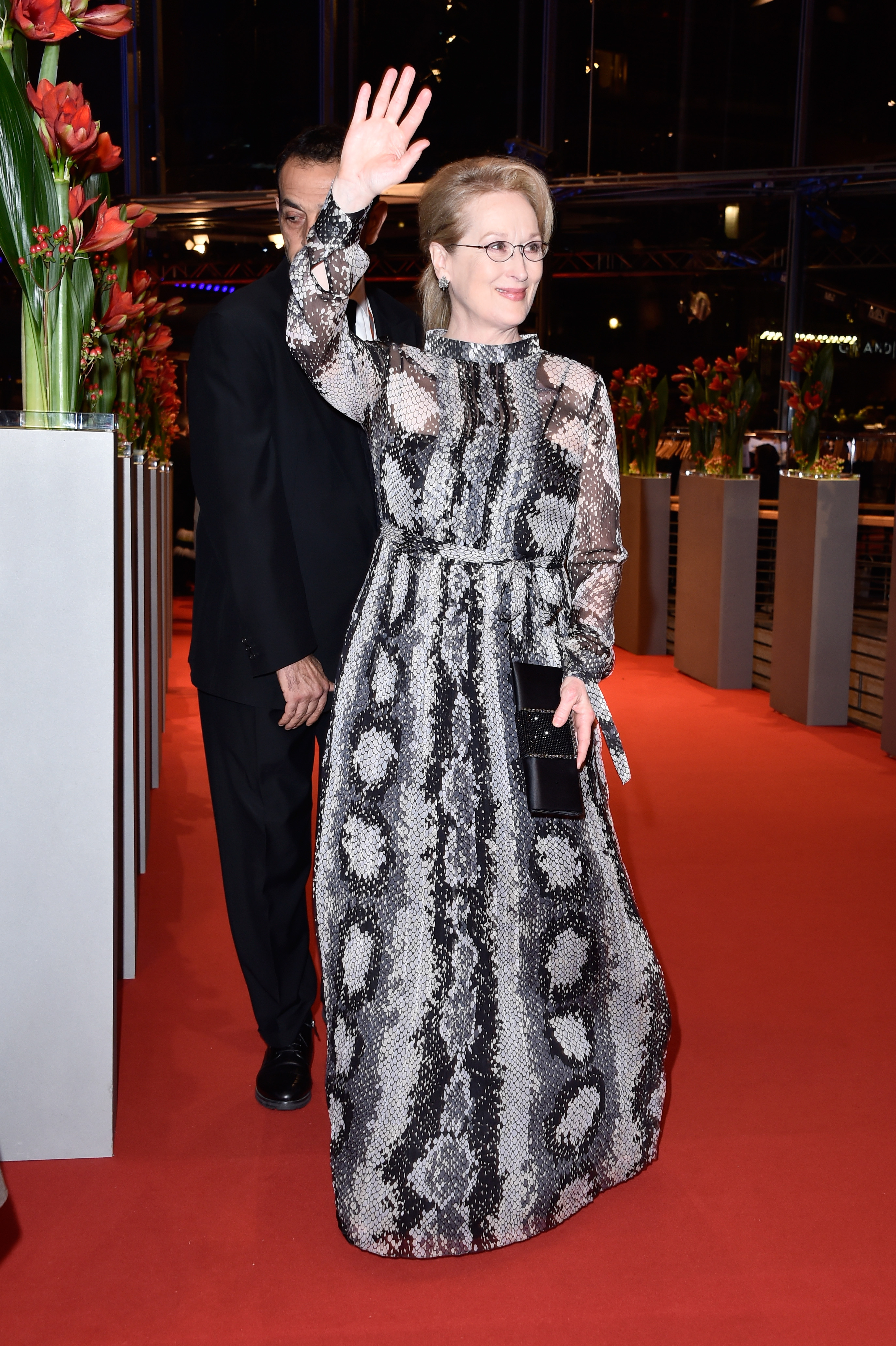 BERLIN, GERMANY - FEBRUARY 11: Meryl Streep attends the 'Hail, Caesar!' premiere during the 66th Berlinale International Film Festival Berlin at Berlinale Palace on February 11, 2016 in Berlin, Germany. (Photo by Pascal Le Segretain/Getty Images)