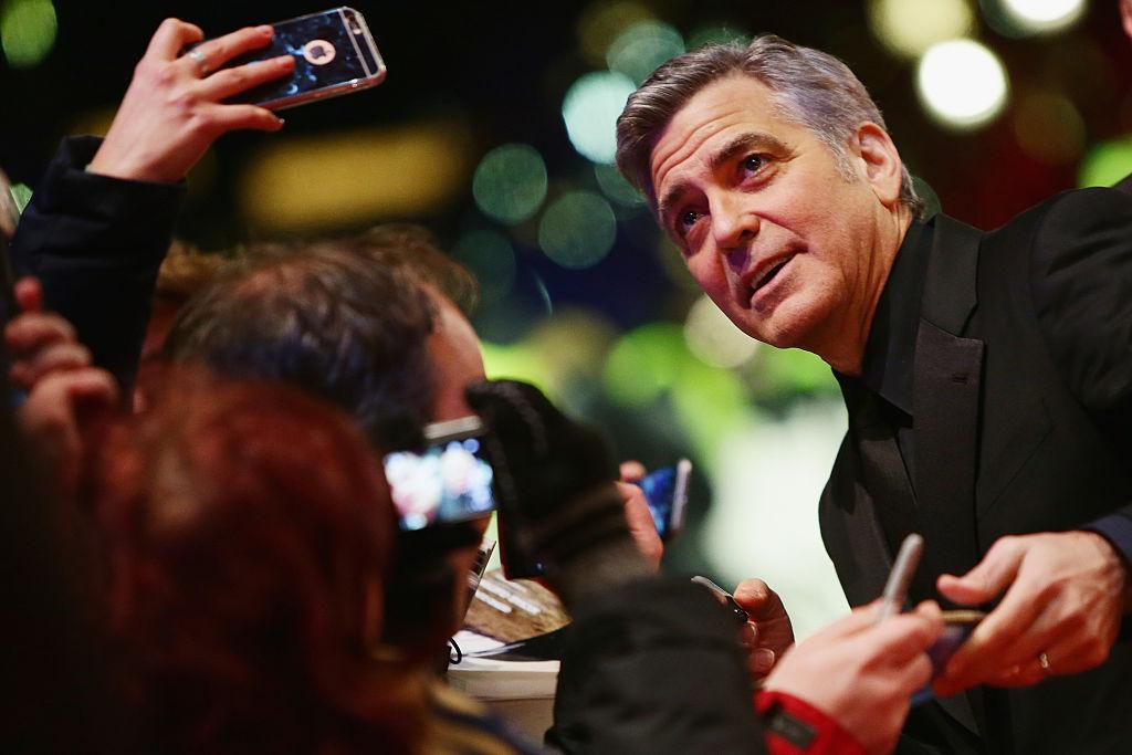 Джордж Клуни на Берлинале 2016