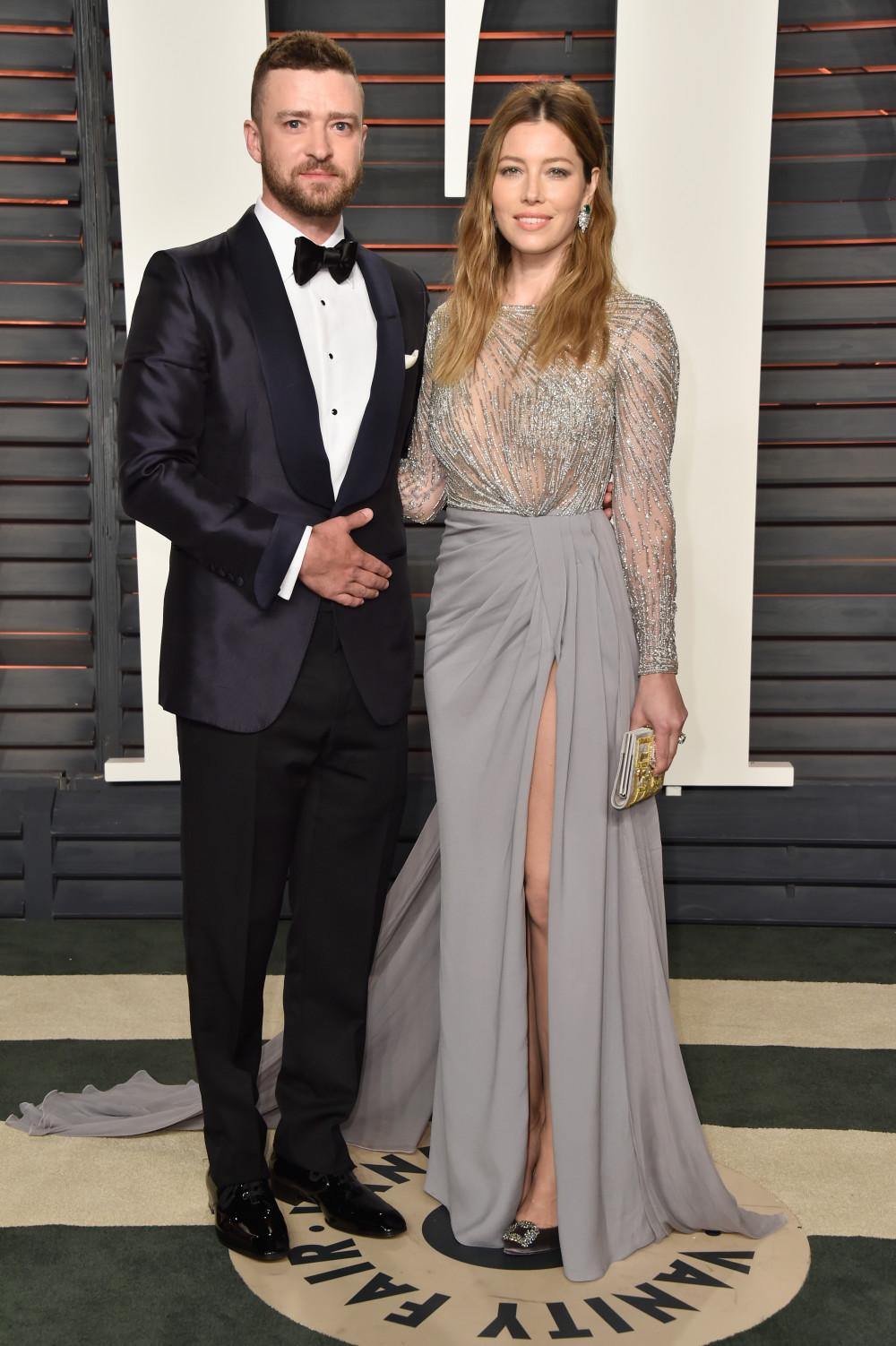 Джастин Тимберлейк и Джессика Бил Оскар 2016