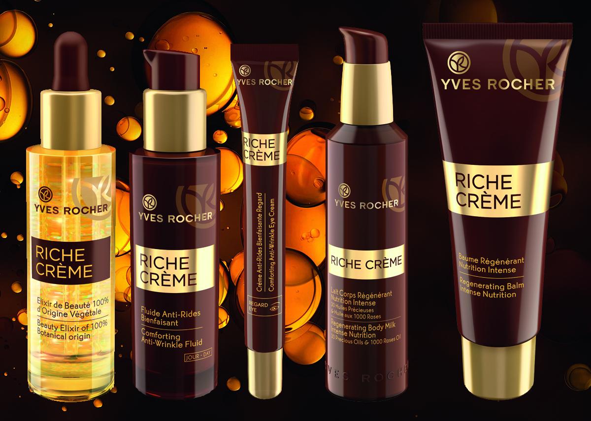 Коллекция Riche Crème от Yves Rocher