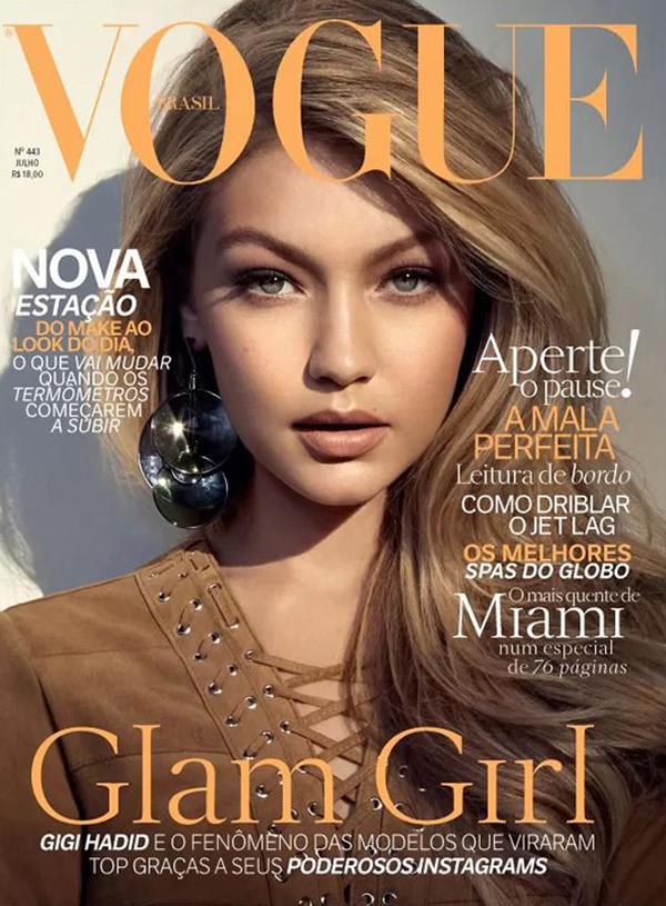 Джиджи Хадид, Vogue Бразилия