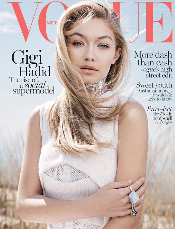 Джиджи Хадид, Vogue Австралия