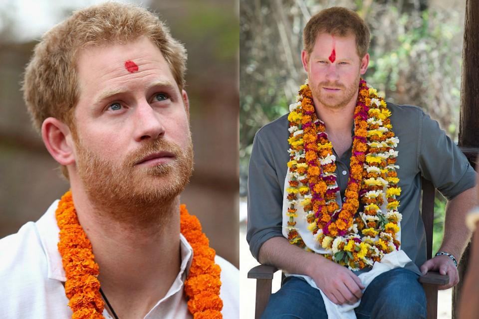 принц Гарри в Непале