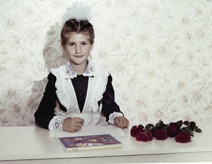 Анита Луценко детские фото