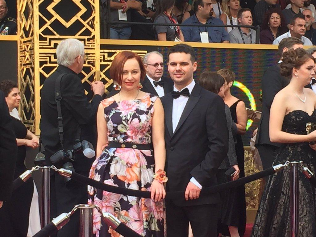 Галина Садомцева и Олег Кульчицкий Оскар 2016