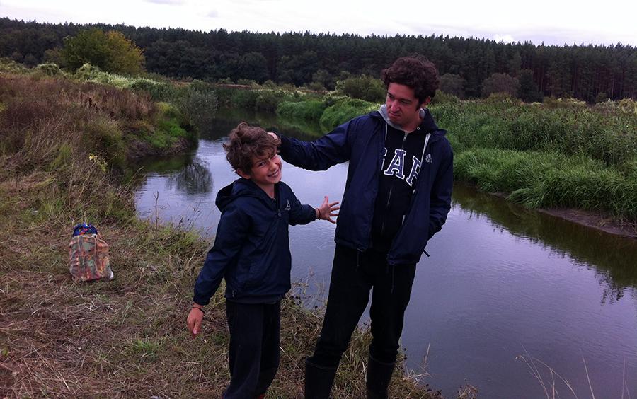 Дмитрий Шуров с сыном Львом