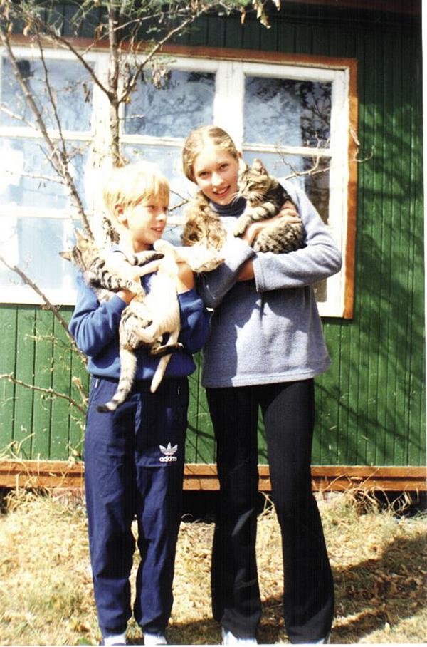 Катя Осадчая брат семья