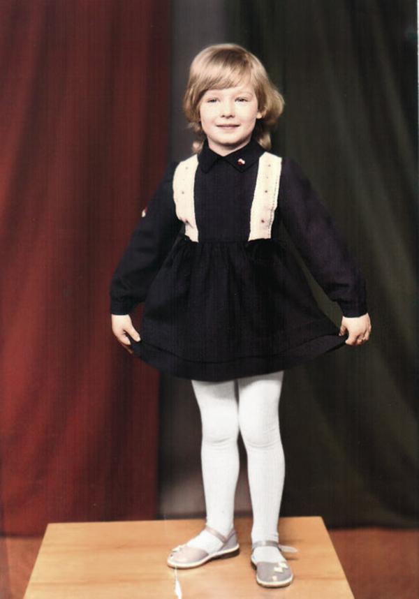 Катя Осадчая детские фото