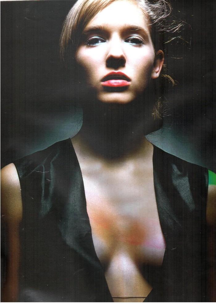 Катя Осадчая в юности