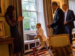 принц Джордж Бпрпк Обама