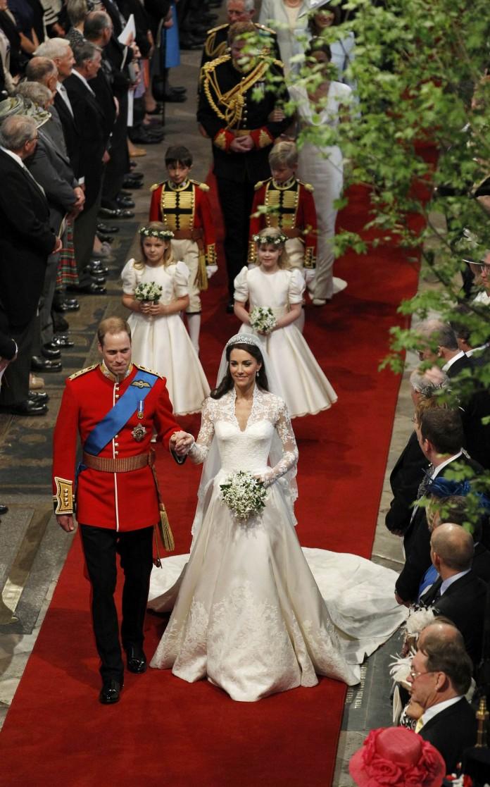 Британские свадьбы