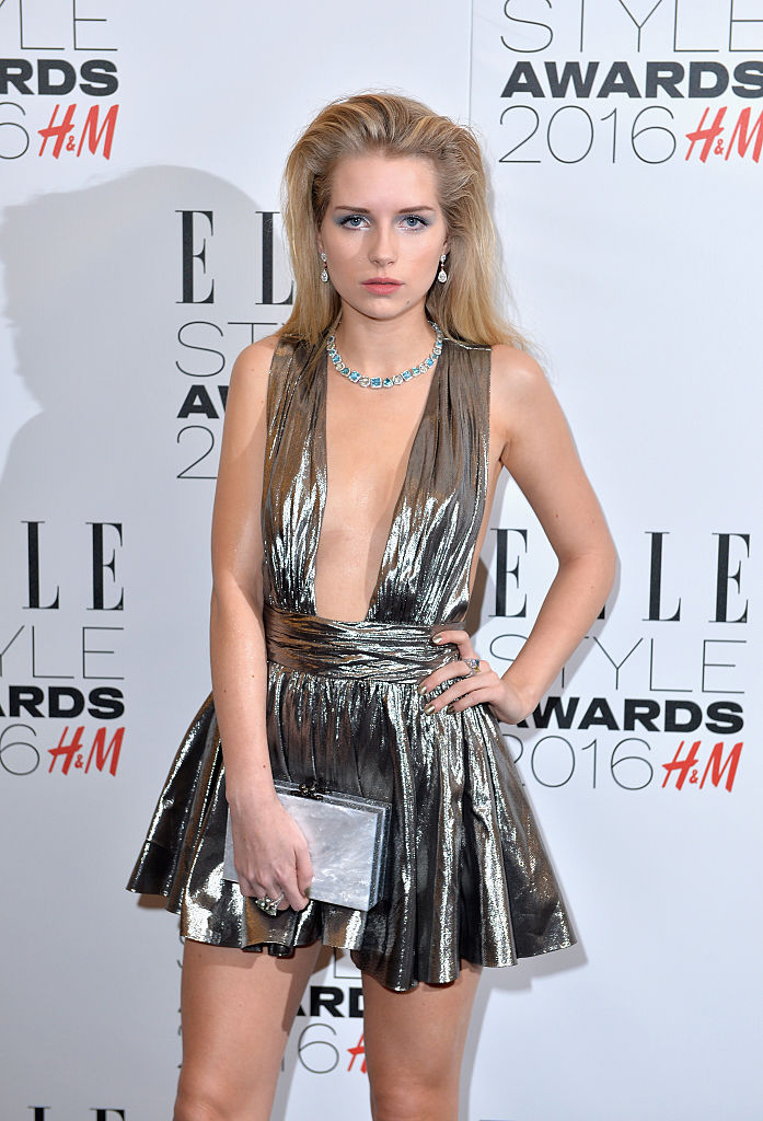 LONDON, ENGLAND - FEBRUARY 23: Lottie Moss attends The Elle Style Awards 2016 on February 23, 2016 in London, England. (Photo by Anthony Harvey/Getty Images)
