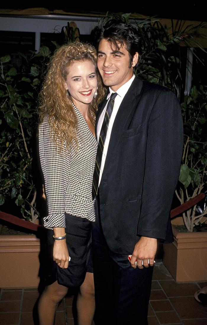 Джордж Клуни 1988 г.