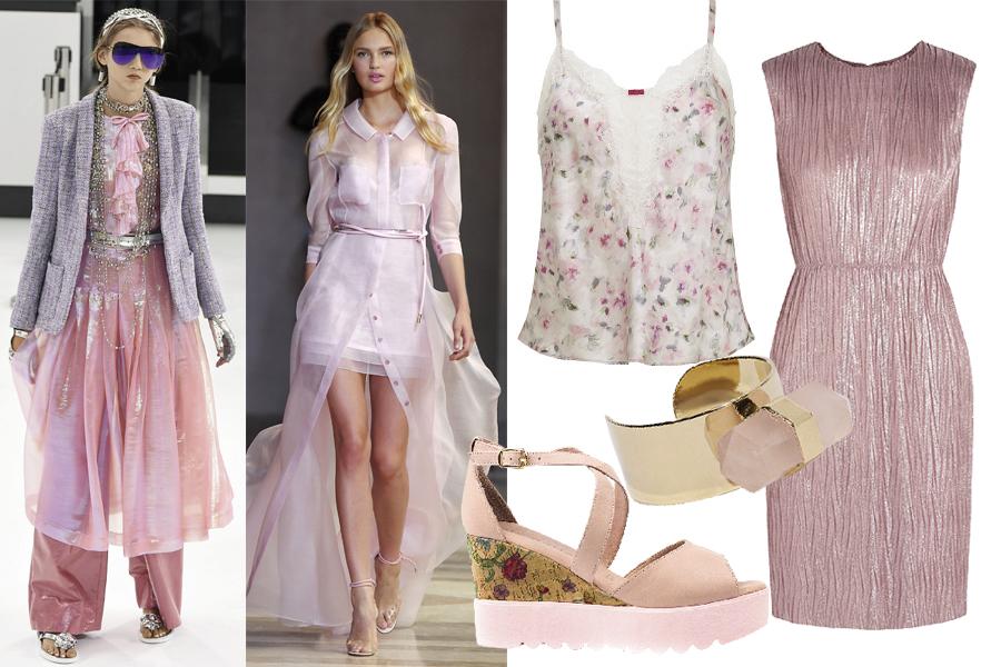 Тренды весна-лето 2016 розовый кварц
