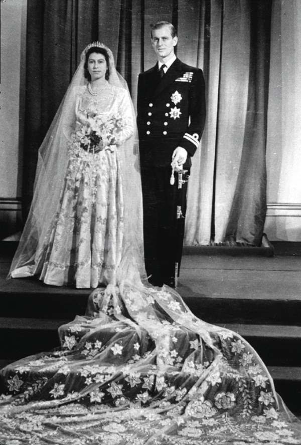 Королева Елизавета свадьба