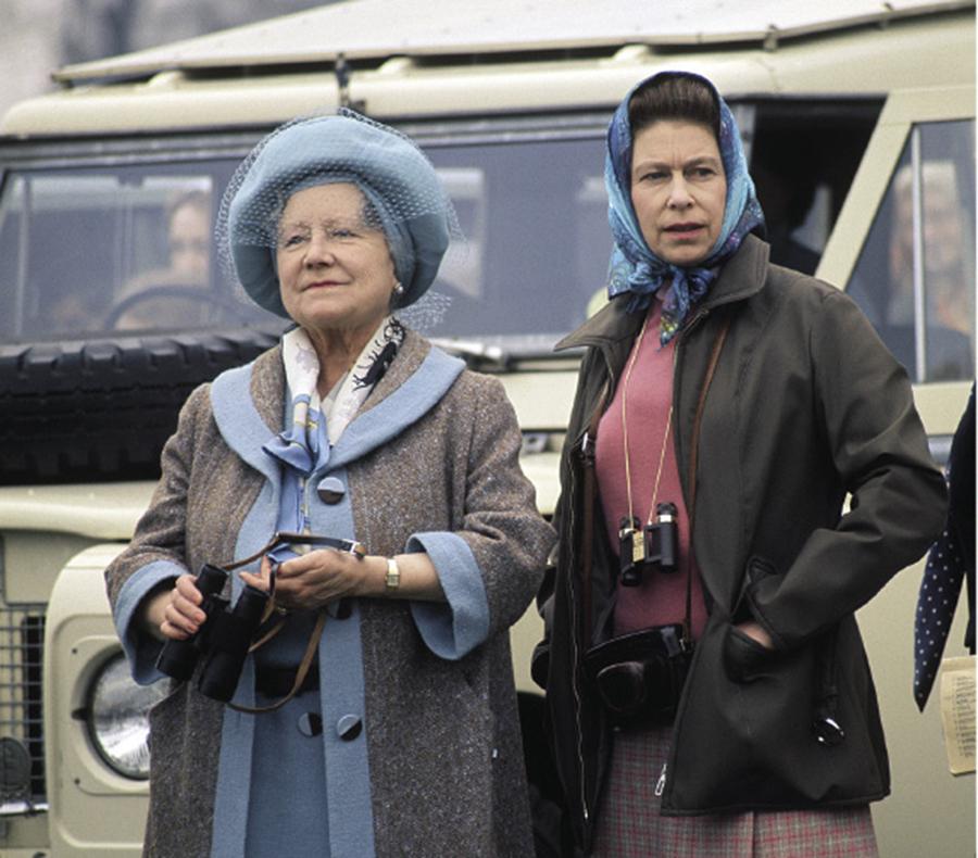Королева Елизавета II королева-мать