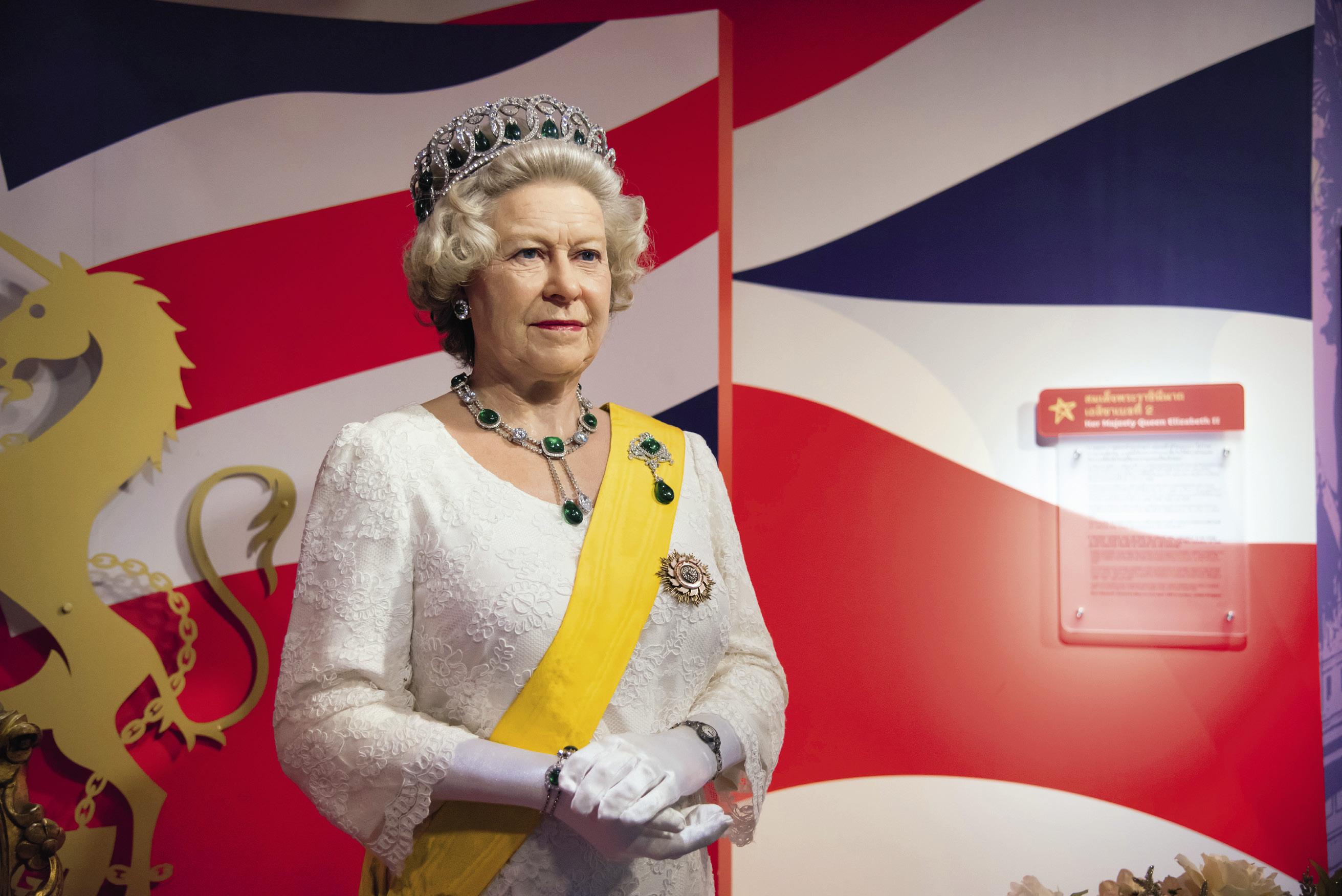 Елизавета II в Музее мадам Тюссо