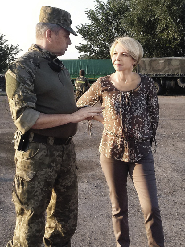 Оксана Соколова Виктор Муженко