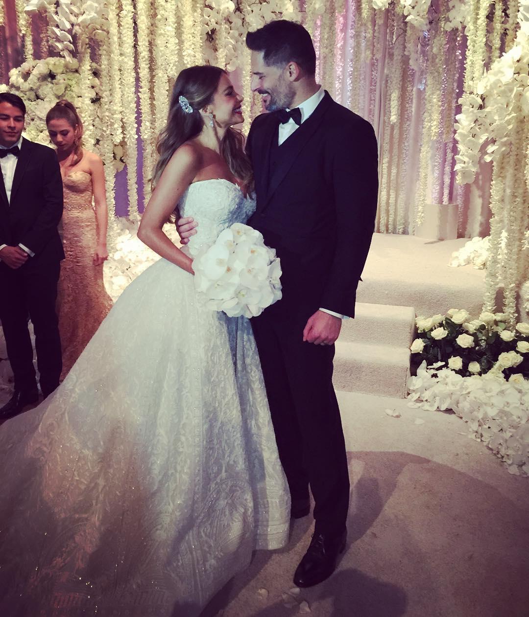 Свадьба Софии Вергары и Джо Манганьело