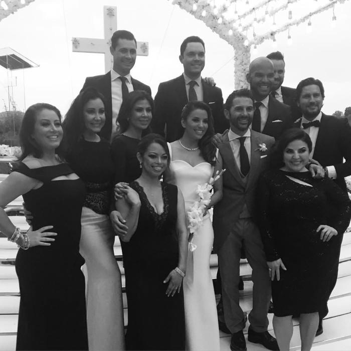 свадьба Евы Лонгории