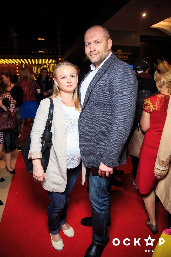 Борислав Береза с женой