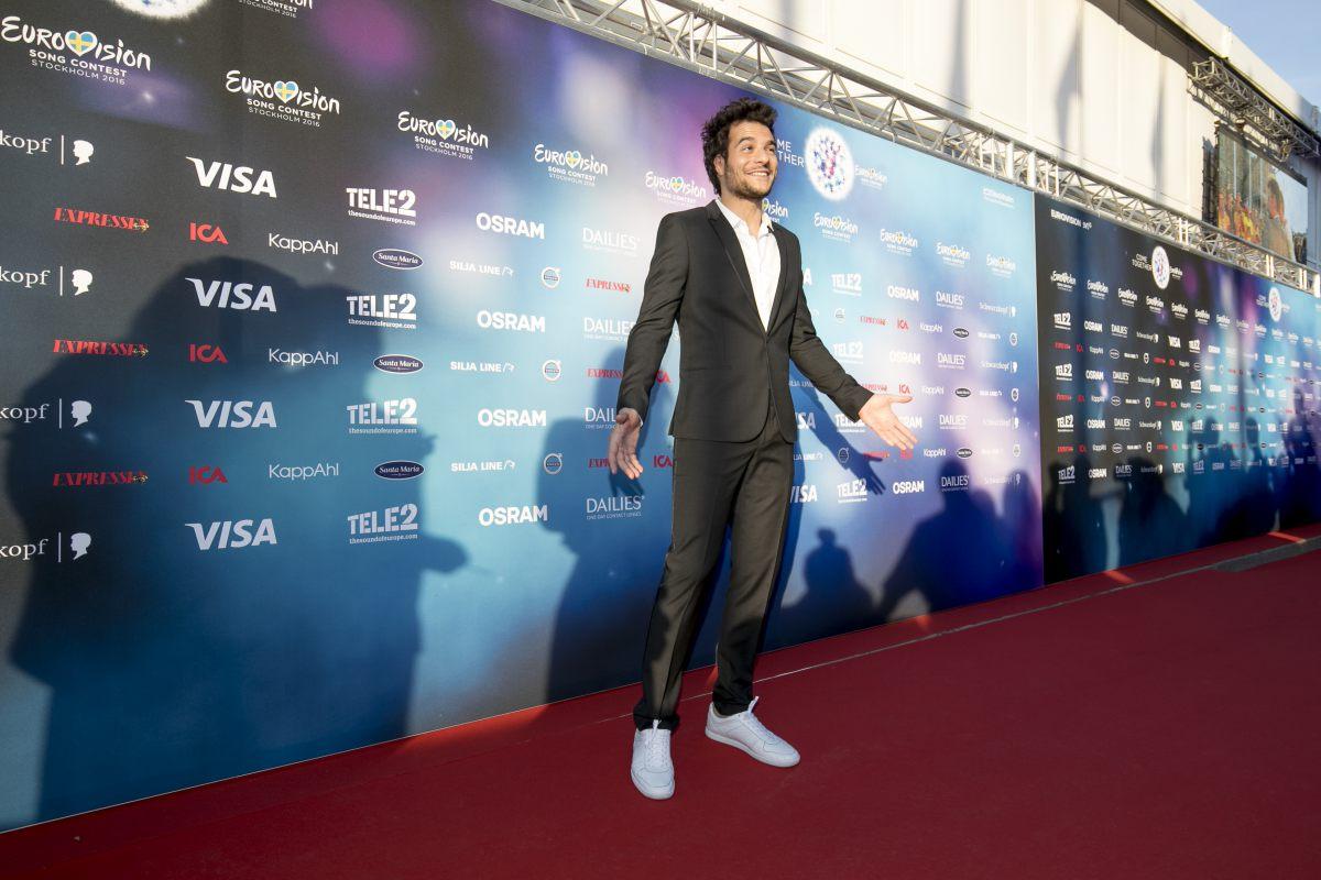 Амир Евровидение 2016 Франция