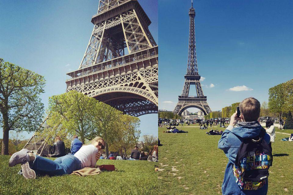 Катя Осадчая в Париже