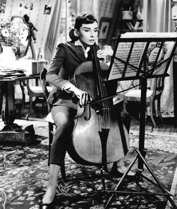 Одри Хепберн «Любовь после полудня»